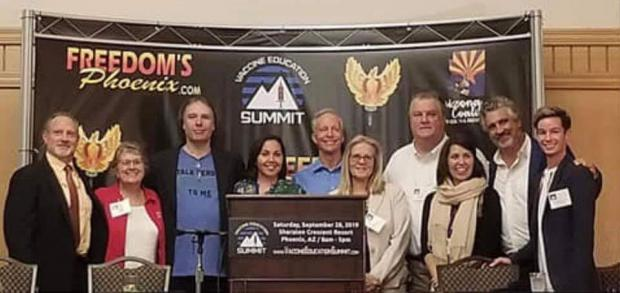 Pictures from the Vaccine Education Summit held Sept 28, 2019 in Phoenix, AZ