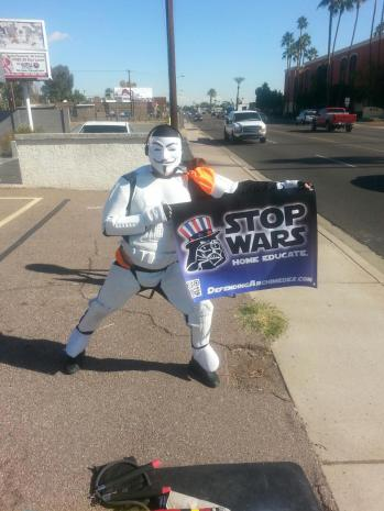 It begins....STOP WARS - HOME EDUCATE