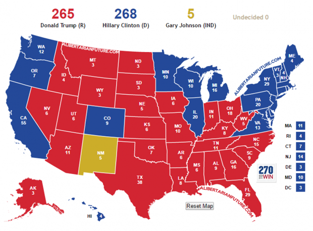 If Gary Johnson Can Win His Home State He Could Be Elected
