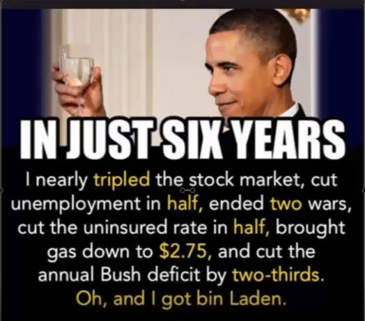 Dispelling the Rumors Obama was great for the economy