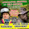 EXCLUSIVE 1-ON-1 APOCALYPSE SURVIVAL & SELF-DEFENSE TRAINING WITH SPECIAL FORCES