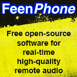 FeenPhone Free open-source software for hi-quality remote podcasting, radio, voiceover